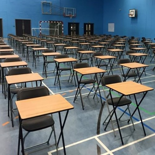 The Essex Group-folding-exam-desks-in-college