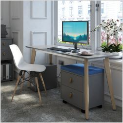 Giza Wooden Leg Desk
